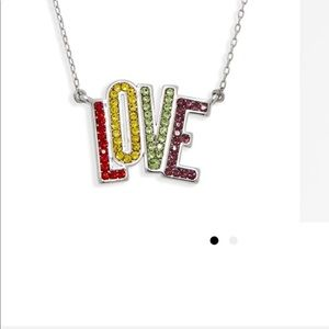"""NWT Kate Spade """"LOVE"""" pendent necklace ."""